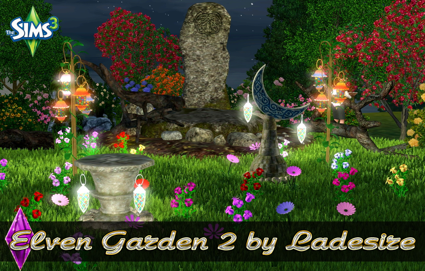 Elven Garden 9 - The Sims 9 Catalog
