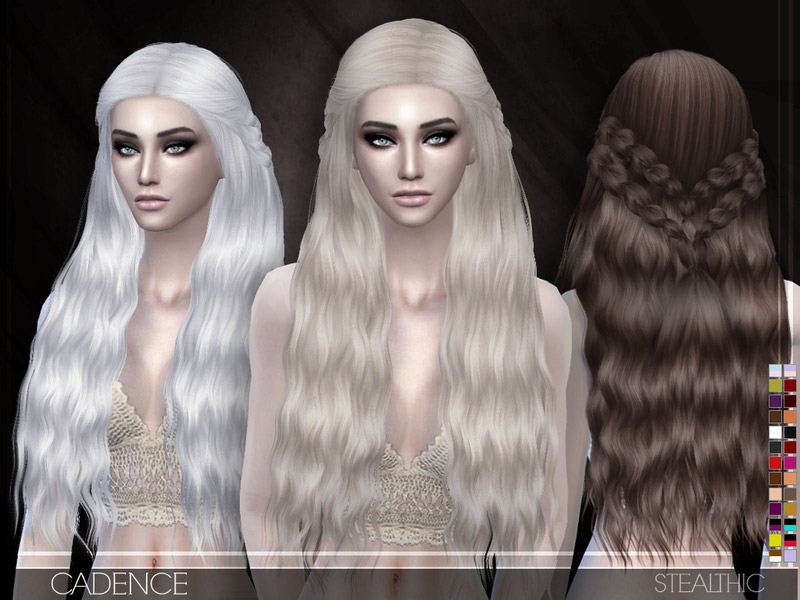 The Sims 4 Hairstyles Free Downloads