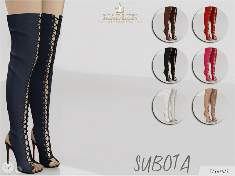 Shoes Downloads The Sims 4 Catalog