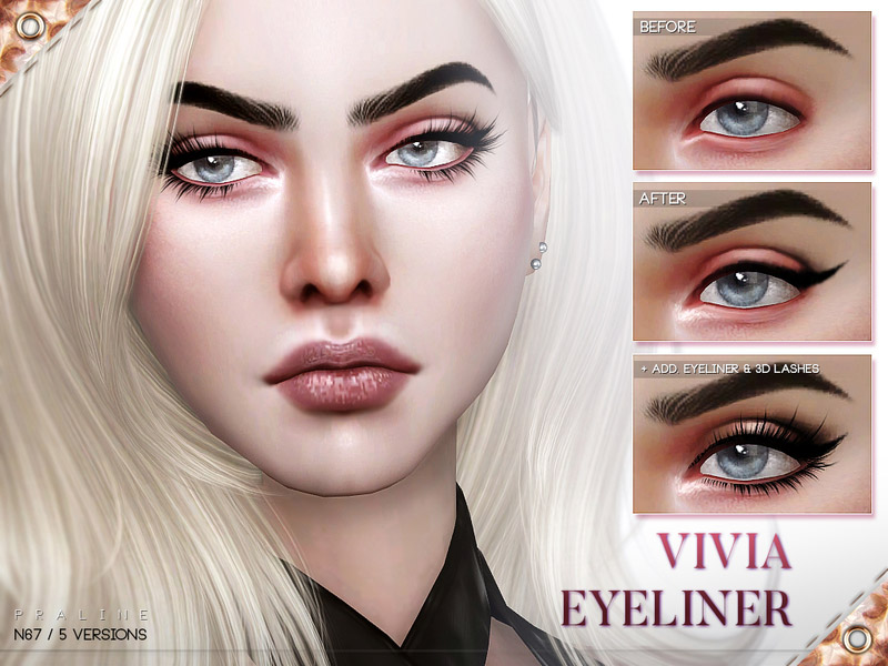 Sims 3 Cat Eye Makeup | Saubhaya Makeup