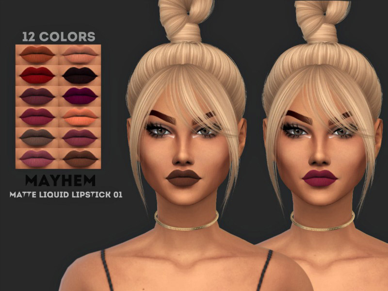Makeup Downloads - The Sims 4 Catalog