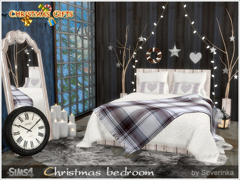 Christmas Bedroom The Sims 4 Catalog