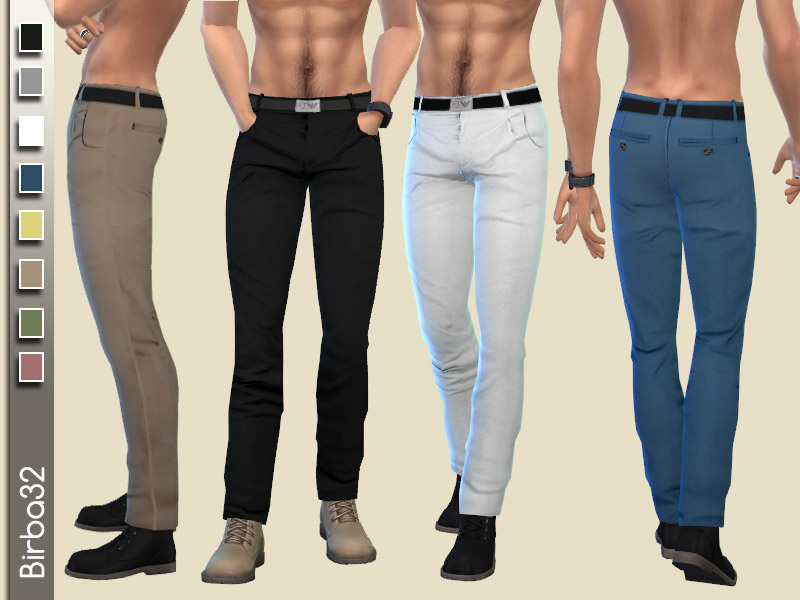 Men's Clothing Downloads - The Sims 4 Catalog