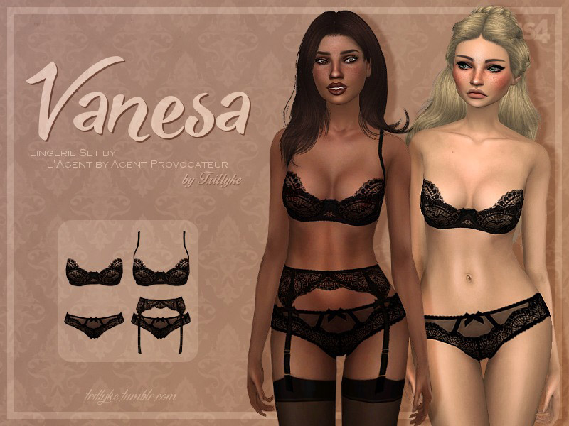 Lingerie Downloads - The Sims 4 Catalog 5c2458635