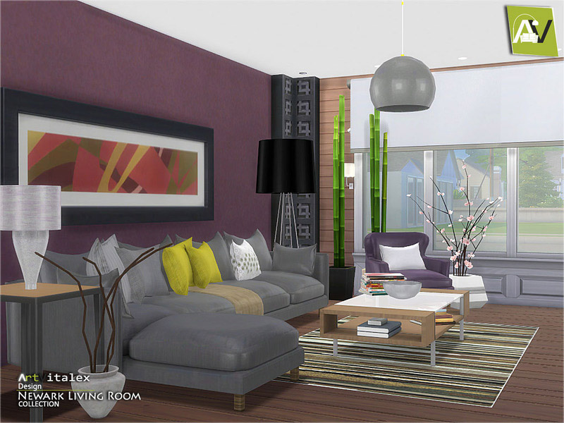Living Room S The Sims 4 Catalog