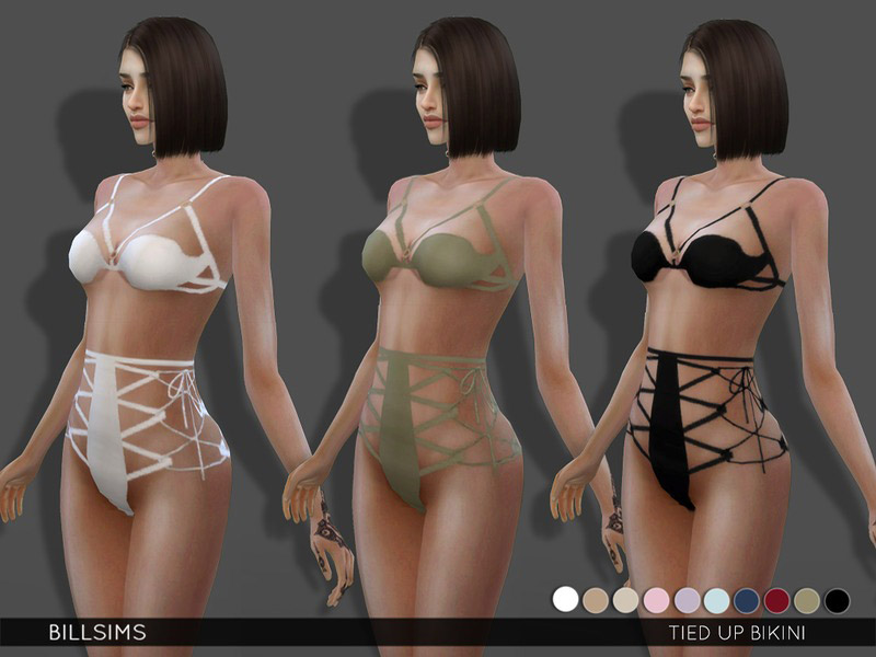 Tied Up Bikini The Sims 4 Catalog
