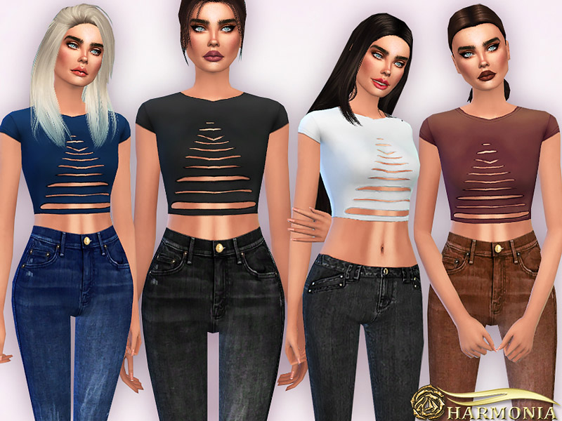 Shirts Downloads The Sims 4 Catalog