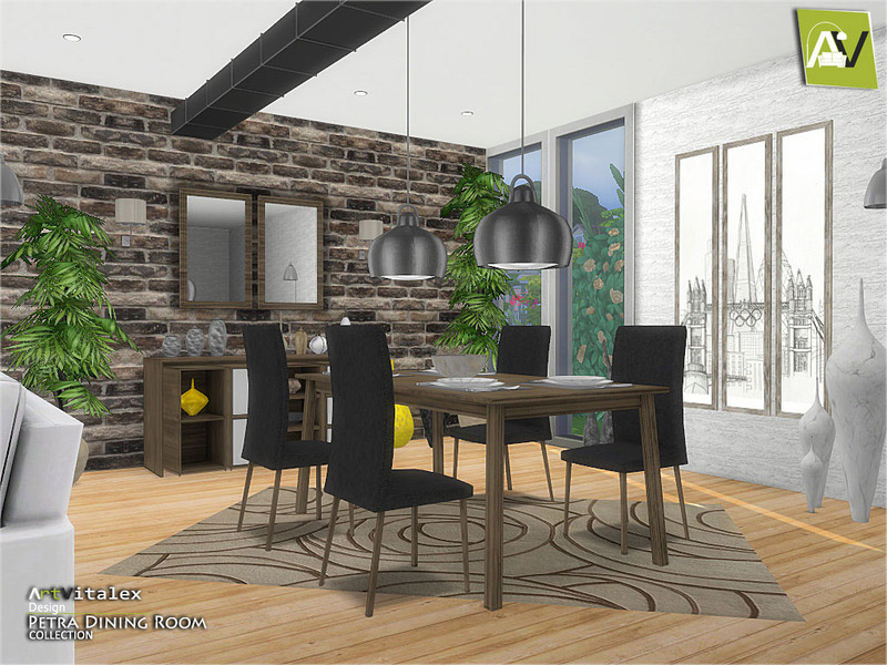 Dining Room Downloads The Sims 4 Catalog