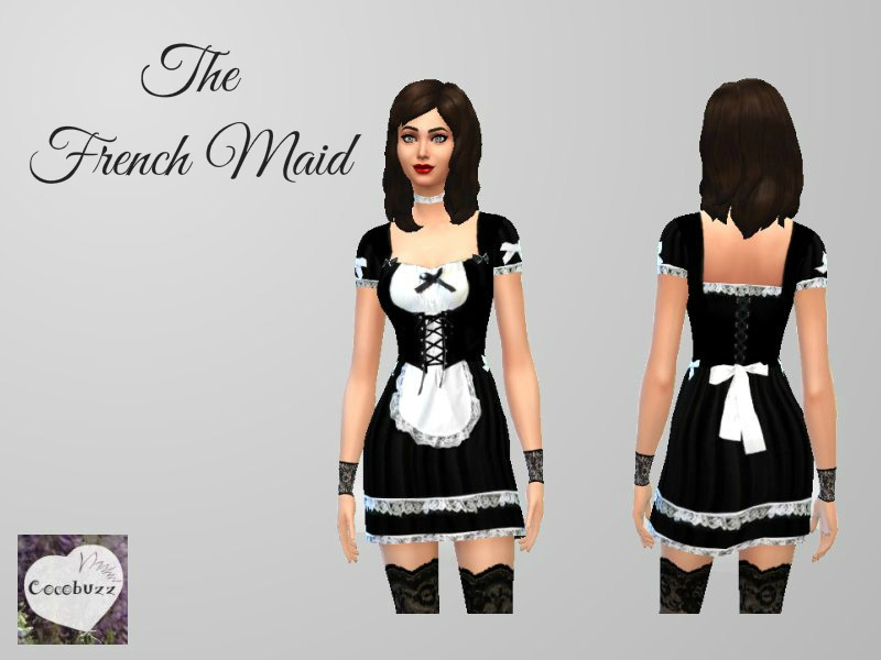 The French Maid The Sims 4 Catalog
