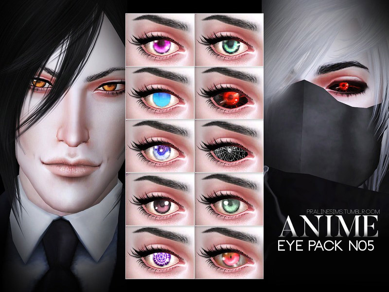 Anime Eye Pack N05 - The Sims 4 Catalog