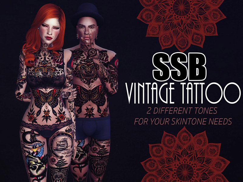 Tattoos Downloads - The Sims 4 Catalog
