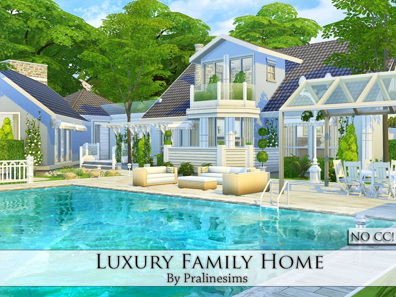 Luxury Family Home The Sims 4 Catalog