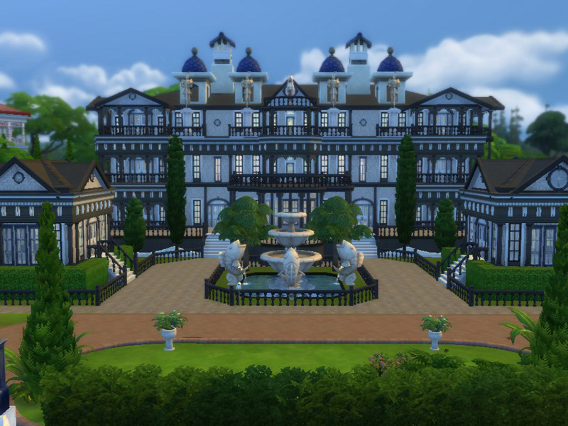 Barons Mansion V2 The Sims 4 Catalog