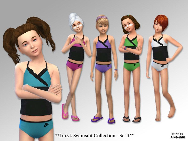 bf9fbaa1ed Swimwear Downloads - The Sims 4 Catalog