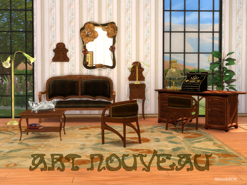 Art Nouveau Sample The Sims 4 Catalog
