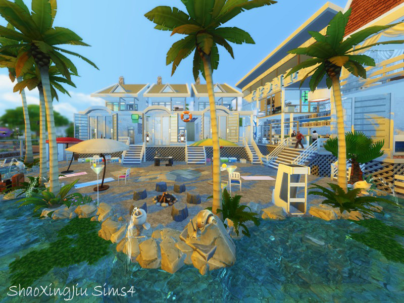 Sims  Island Paradise Residential Lots