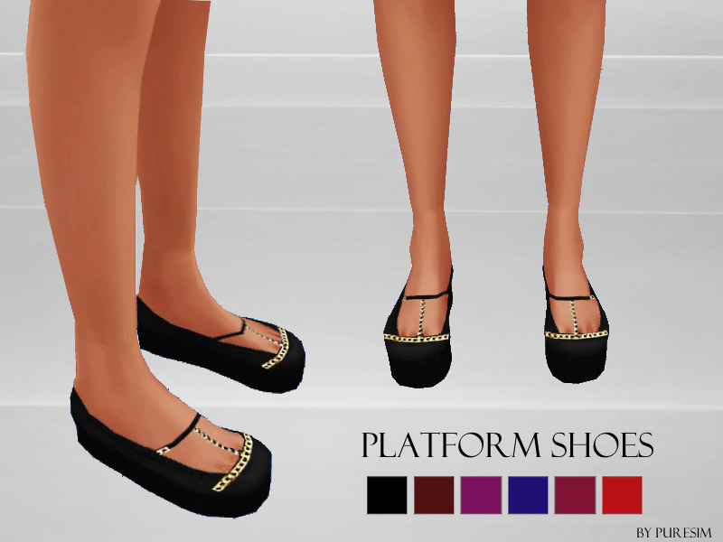 Platform Shoes The Sims 4 Catalog