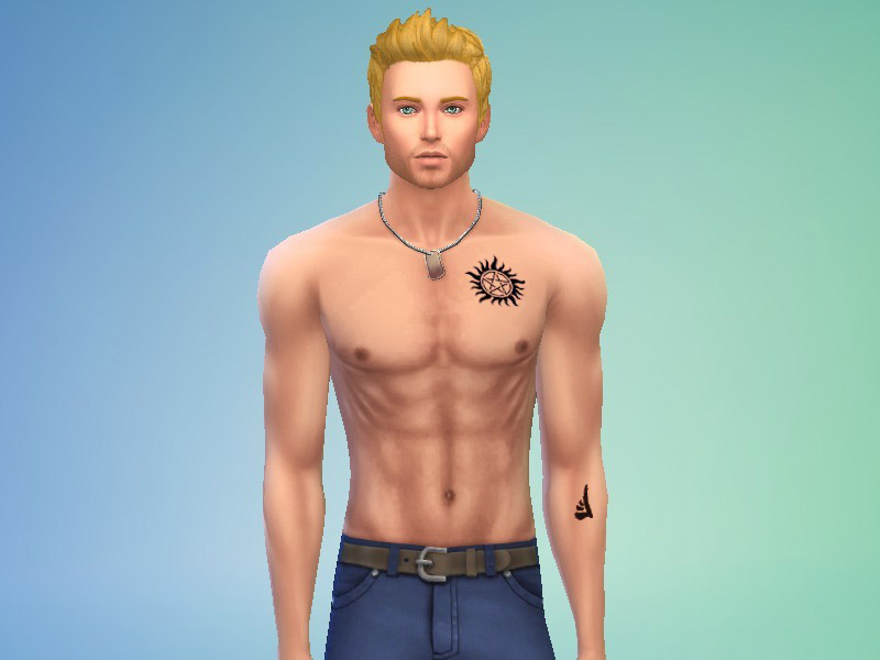 Supernatural Mark Of Cain The Sims 4 Catalog