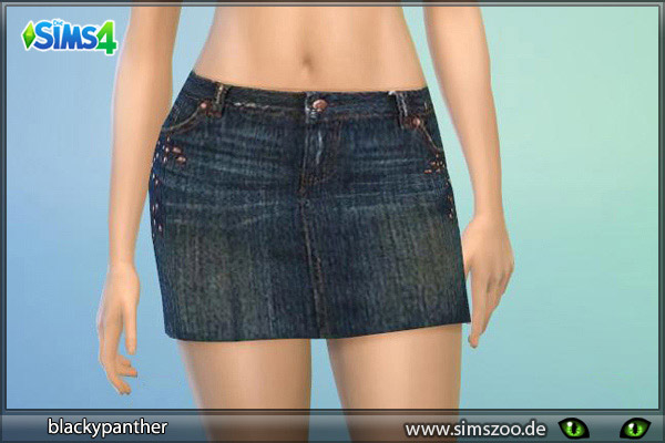 Mini Denim Skirt Rock 1 The Sims 4 Catalog