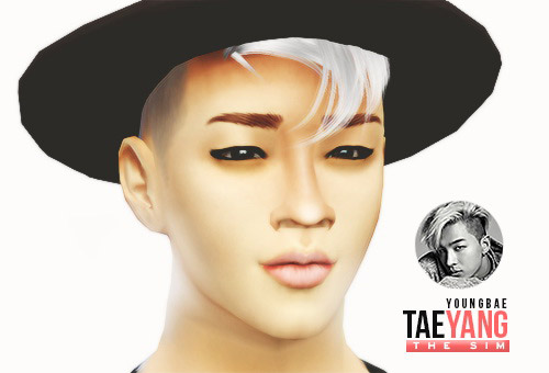 Taeyang For Sims 4 K Pop Inspired Sim The Sims 4 Catalog