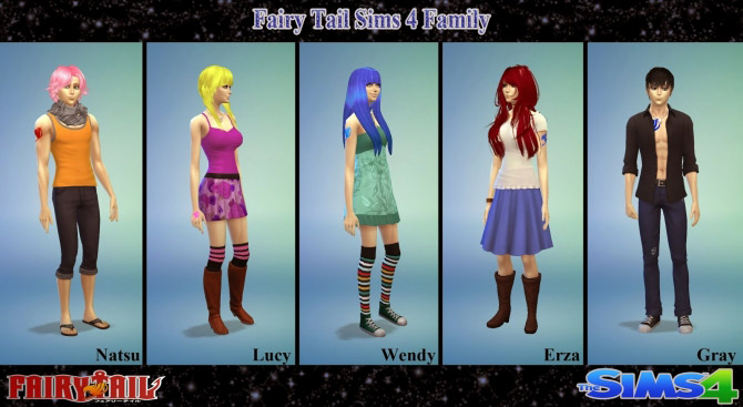 Fairy Tail Tattoo Set The Sims 4 Catalog