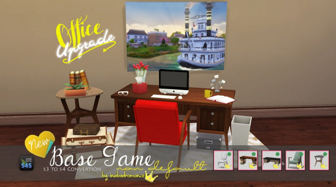 3t4 Office Conversion The Sims 4 Catalog