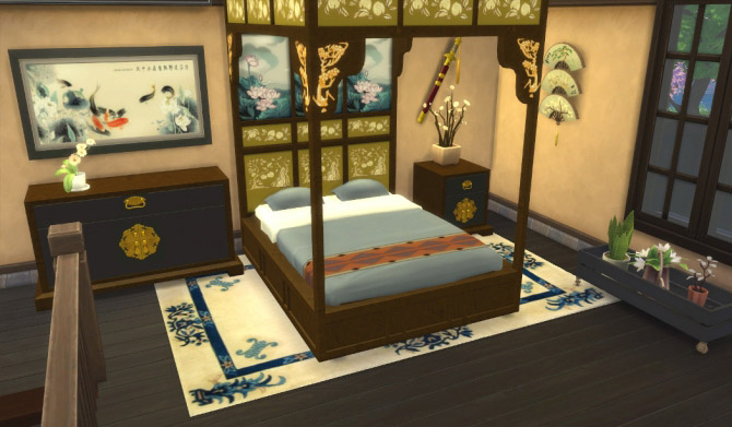 Asian Beds The Sims 4 Catalog