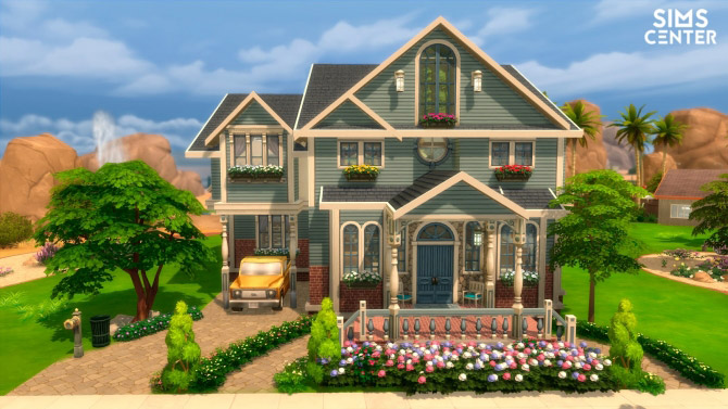 Classic house the sims 4 catalog for Classic house sims 4