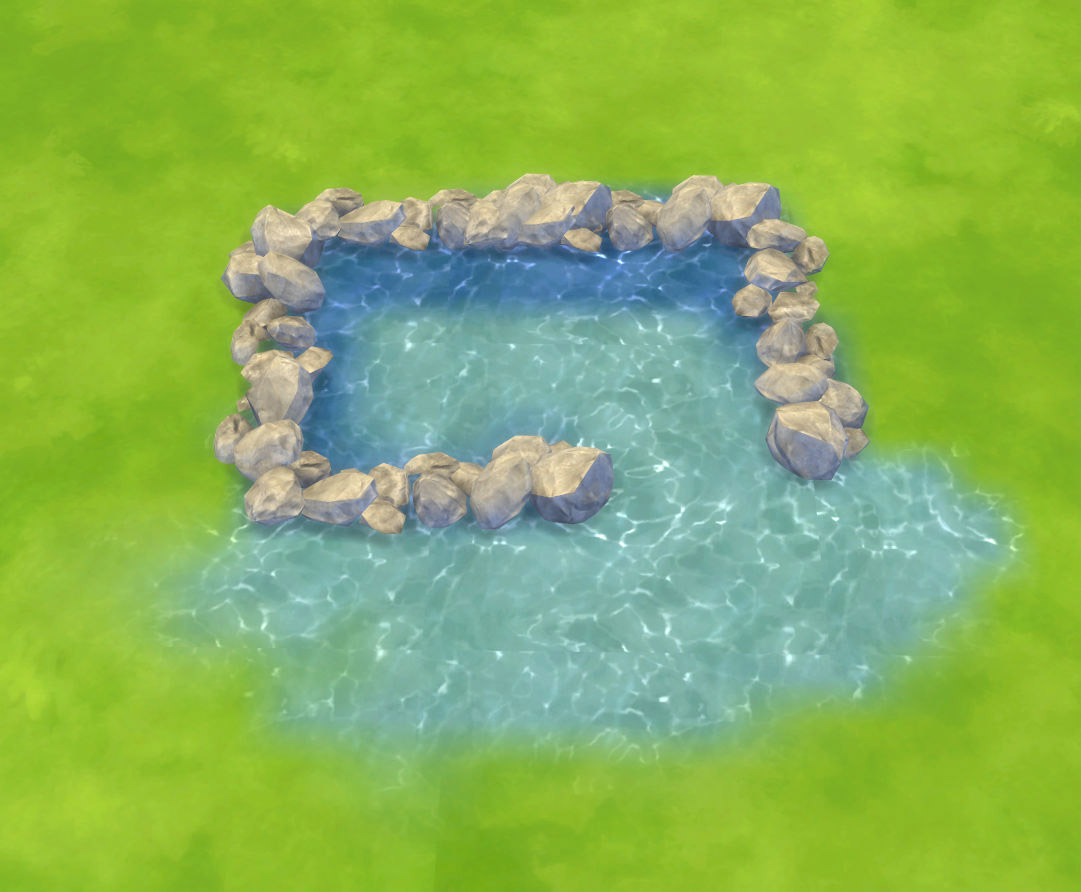Water Unbound I Pool Water Terrain Paints The Sims 4 Catalog
