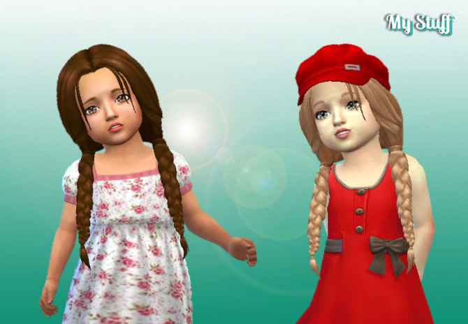 The Sims 4 Toddler Hair - FREE Downloads