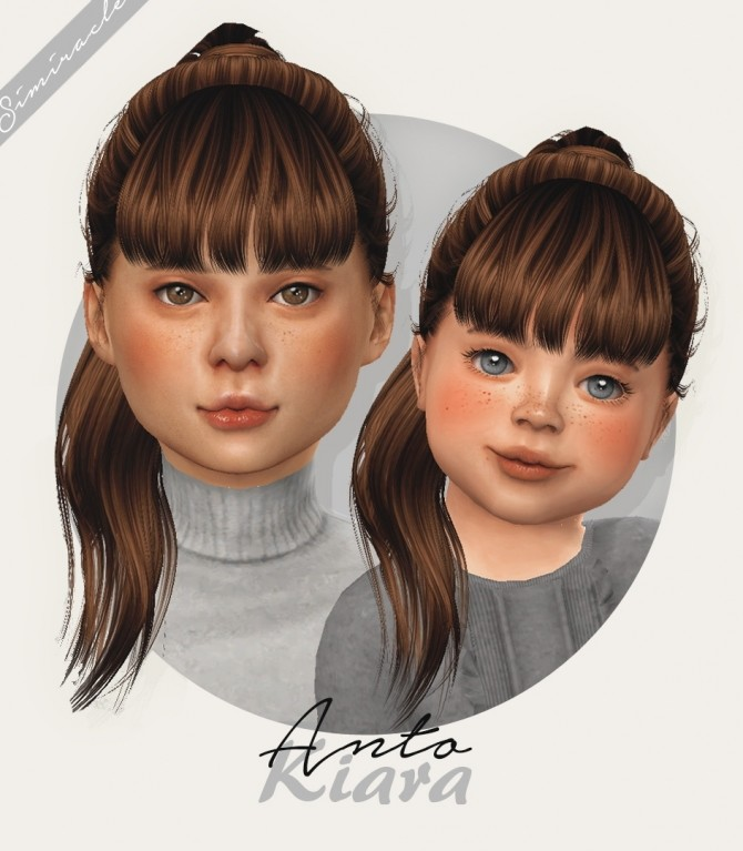 Girl s Hairstyles Downloads The Sims 4 Catalog