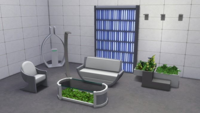Futuristic Living Dining Rooms The Sims 4 Catalog