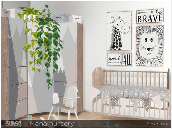 Nursery Downloads - The Sims 4 Catalog